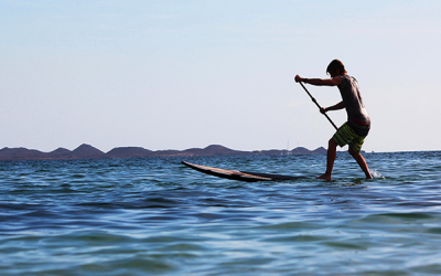 How to Turn A Stand Up Paddleboard