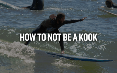HOW TO NOT BE A KOOK