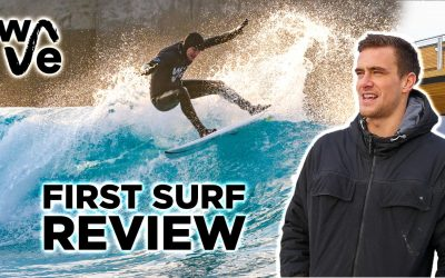 First Surf At The Wave Bristol Review